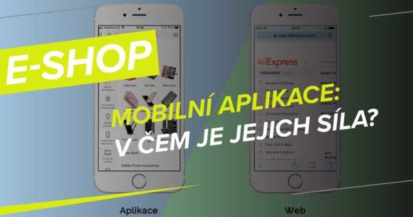 Nejlepší mobilní aplikace zahraničních e-shopů